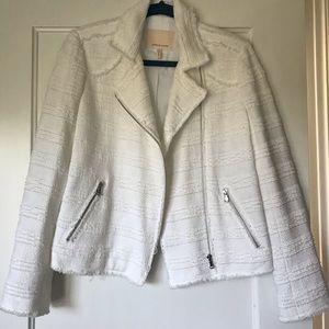*Never Worn* Rebecca Taylor White Bouclé Jacket